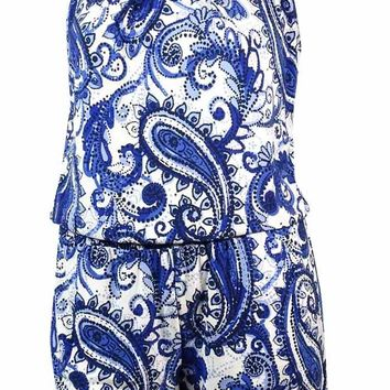 INC International Concepts Women's Beaded Jersey Romper