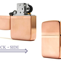 Zippo lighter double-sided processing ミラーラインシリーズ 1941 rose 1941 MIRROR-L-RPK