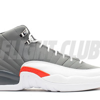 "air jordan 12 retro (gs) ""cool grey"""