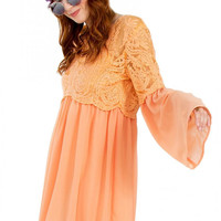 Orange Dream Dress Size: M