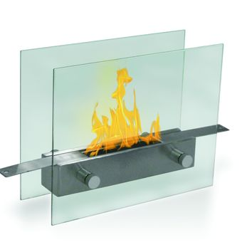 Metropolitan Tabletop Bio-Ethanol Fireplace - Home Decor | Anywhere Fireplace