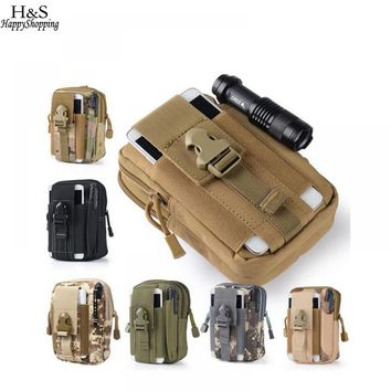 Outdoor Pouch Equipment Sports Vest For Wasit Bag Hunting Military 600D Airsoft Utility Tactical MOLLE Pack Waist