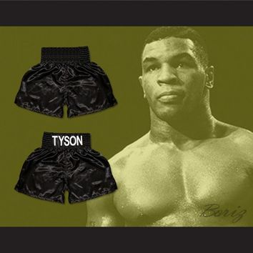 Mike Tyson Boxing Shorts All Sizes
