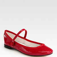 Lio Patent Leather Mary Jane Ballet Flats - Zoom - Saks Fifth Avenue Mobile
