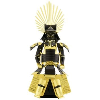 Metal Earth 3D Laser Cut Steel Model Building Kit - Japanese Toyotomi Armor