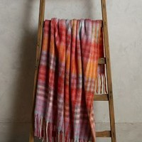 Plaid Palette Throw by Anthropologie