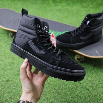 ONETOW Best Online Sale The North Face TNF x Vans MTE 2017 Sk8-Hi Black Hiking Shoes Sneaker