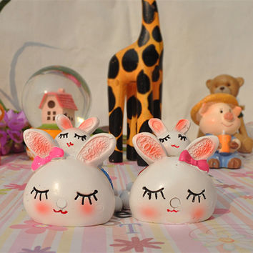 Hot Sale Resin Rabbit Decoration Gifts Home Decor [6281747398]