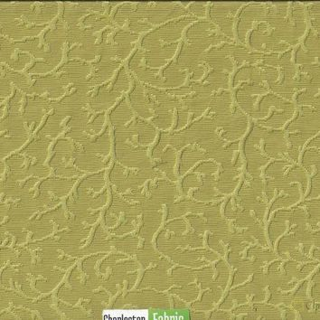 Lime Green Jacquard Fabric