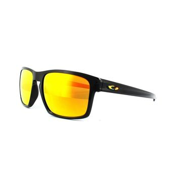 One-nice™ Oakley Sunglasses Sliver OO9262-27 Valentino Rossi Polished Black Fire Iridium