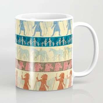 Egyptian Unicorn Pattern Mug by That's So Unicorny
