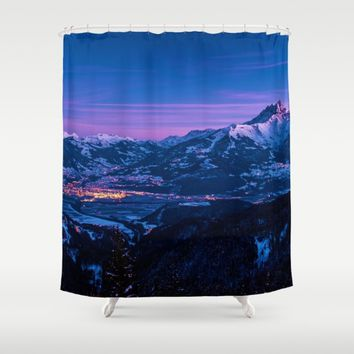 I'm On My Way Shower Curtain by Gallery One