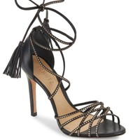 Schutz - Myrcella Strappy Leather Stiletto-Heel Sandals