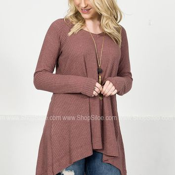 Classic Thermal Mauve Top