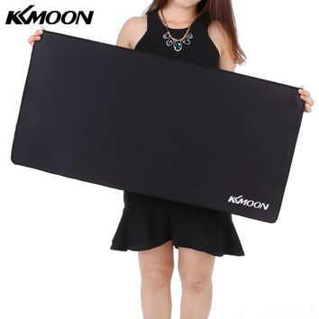 KKMOON Large Size mousepad Gaming mouse pad Plain Extended Waterproof Anti-slip Natural Rubber Desk Mat for cs go overwatch dota