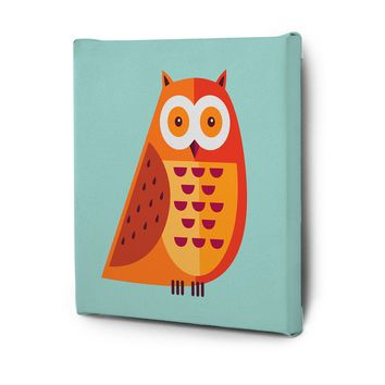 Cute Animals Pictures Series Canvas Wall Art Decal Painting Prints Decor Hoot