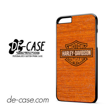 Harley Davidson Wood Pattern DEAL-5058 Apple Phonecase Cover For Iphone 6/ 6S Plus