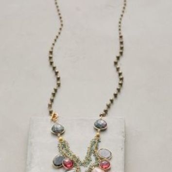 Catherine Page Florac Necklace in Green Motif Size: One Size Necklaces