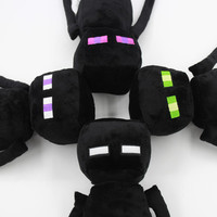 """New Arrivals"" Minecraft Toy Minecraft Enderman Plush Doll 43CM 4 Different eye color ""In stock"" 1PCS free shipping!!"