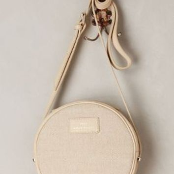 Benah for Karen Walker Marion Mini Round Crossbody Cream All Bags