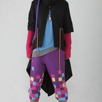 Masked Rider EX-AID Parado Cosplay Costume Custom Made For Halloween