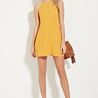 Cutout A-Line Mini Dress | Forever 21 - 2000152744