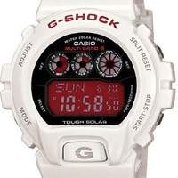 Casio G Shock Atomic Solar White Resin Digital Men's Watch - GW6900F-7 [Watch]