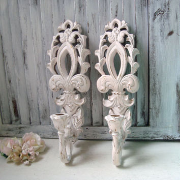 Wall Sconces Shabby Chic : Best Shabby Chic Candle Wall Sconces Products on Wanelo