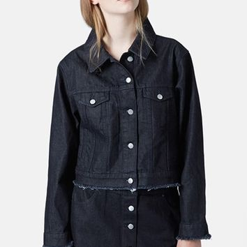 Women's Marques'Almeida for Topshop Boxy Denim Jacket