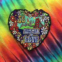 Summer of Love 50th Anniversary Patch