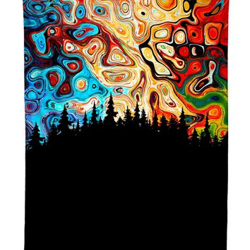 Night Sky Psychedelic Tapestry