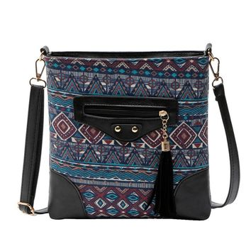 OCARDIAN bolsas Bohemian Printing Style Women Messenger Bags Vintage Crossbody Shoulder Bag Made in China Casual #30 2017 Gift