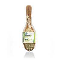 Rubber & Bamboo Pin Hairbrush for Medium to Long Hair | The Body Shop ®