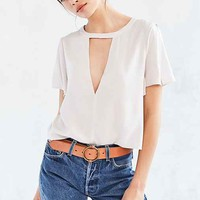 Silence + Noise Deep-Cut Blouse