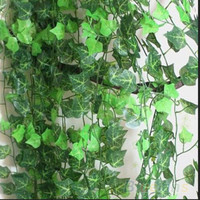 2.5m Artificial Ivy Leaf Garland Plants Vine Fake Foliage Flowers Home Decor