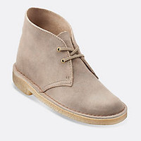 Womens Desert Boot Dark Grey Suede - Clarks Womens Shoes - Womens Heels and Flats - Clarks - Clarks® Shoes