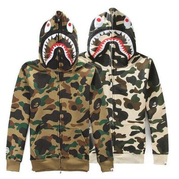 Shark Men's Fashion Winter Men Camouflage Casual Hats [103853654028]
