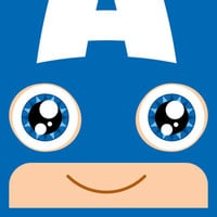 Adorable Captain Art Print by Justin D. Russo | Society6