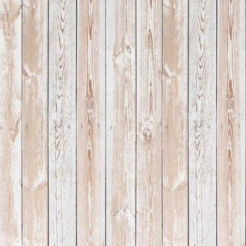 Beige Grunge Wood Vinyl Backdrop - 6x8 - LCCR6309 - LAST CALL