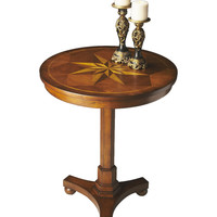 Butler Home Decor Furniture Accent Table Finish Type Light Antique Cherry 2904011