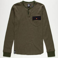 LRG Gamebirds Mens Henley Thermal