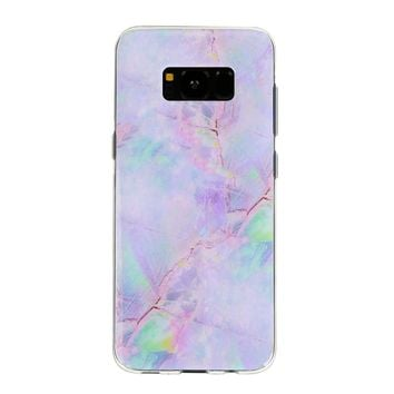 Cotton Candy Marble Samsung Case