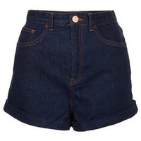 MOTO Indigo Mom Shorts - Denim Shorts - Shorts  - Clothing