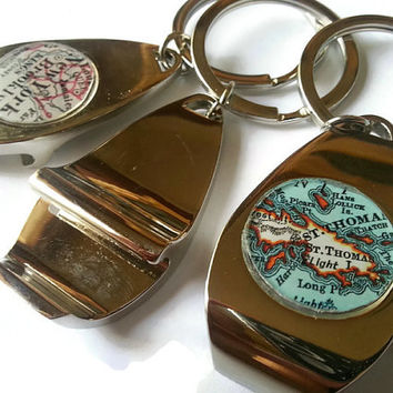 Bottle Opener Key Chain, Keychain Bottle Opener, Graduation Gift, College Gift, Anniversary Gifts for Men, Personalized Botte Opener Key