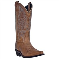 Tremaine Leather Boot in Light Beige