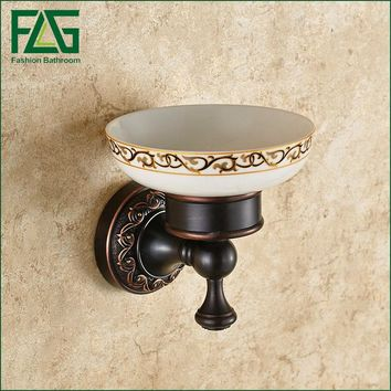 FLG Wall mounted Bathroom Accessories soap holder bathroom fixture Soap Dish bathroom soap holder