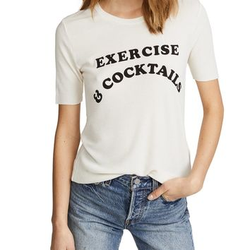 Exercise & Cocktails Seer Tee