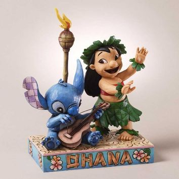 Disney Traditions by Jim Shore Lilo and Stitch Figurine, 7-3/4-Inch