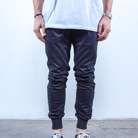 Black Twill | Sunset Jogger