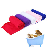 100%  Pet Supply Fast Drying Pet Grooming Microfiber Towel for Pet Dog Cat